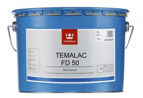 Tikkurila Temalac FD 50/Тиккурила Темалак ФД 50 краска алкидная полуглянцевая однокомпонентная быстросохнущая для стальных конструкций
