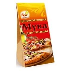 Мука для пиццы, Дивинка, Цельнозерновая, 700 г.