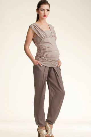 Брюки для беременных 00179 капучино