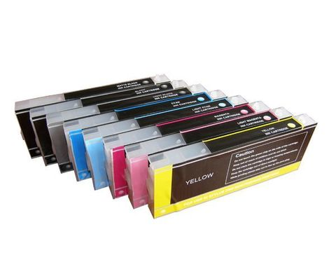 Картриджи дозаправляемые Epson Pro 7600/9600 7 шт х 300 мл с чипами.