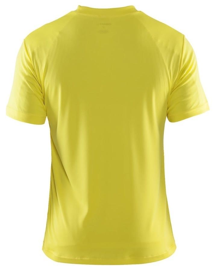 Мужская футболка для бега Крафт Active Run (198921-1553) желтая фото