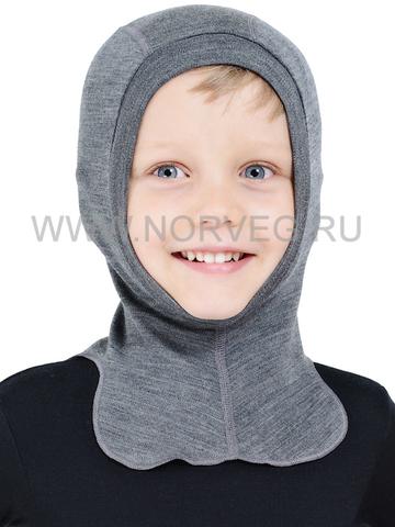 NORVEG SOFT детская шлем-маска с шерстью мериносов