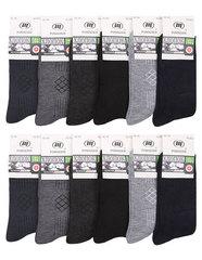 B23 носки мужские 42-48 (12шт), цветные