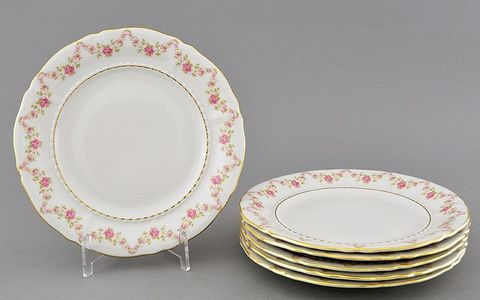 Набор тарелок десертных 19 см 6 штук Соната Leander