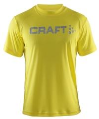 Мужская футболка для бега Craft Active Run (198921-1553) желтая фото