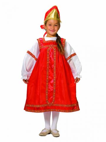 Карнавальный костюм Василиса детский