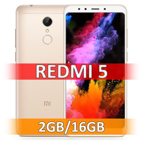 Xiaomi Redmi 5 (2-16Gb) Gold