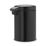 Мусорный бак newIcon настенный (3л), Черный матовый, арт. 116247 - превью 3