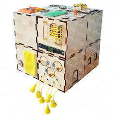 Набор кубиков-бизибордов «Мои друзья»