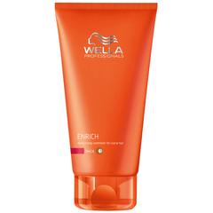 WELLA enrich line питательный бальзам для увлажнения жестких волос 200мл.