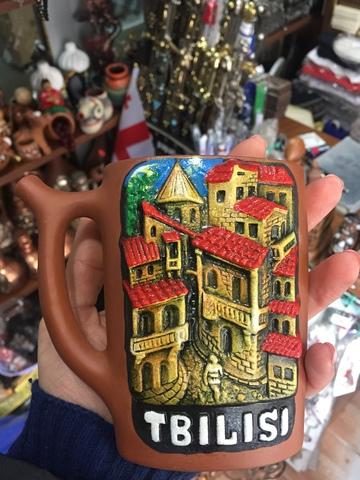 Сувениры из Грузии. Поильник. Кружка с носиком