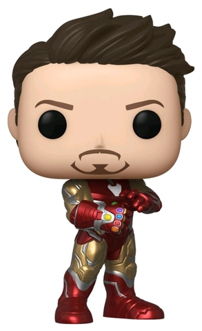 Фигурка Funko POP! Bobble: NYCC Exc: Marvel: Avengers Endgame: Iron Man w/Gauntlet (Exc) 43363