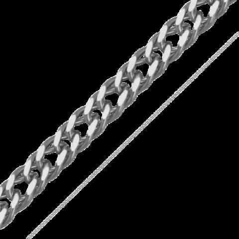 Цепочка Двойной ромб 3 мм