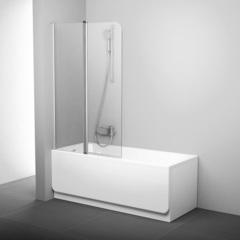 Шторка для ванны Ravak CVS2-100 L белая Transparent