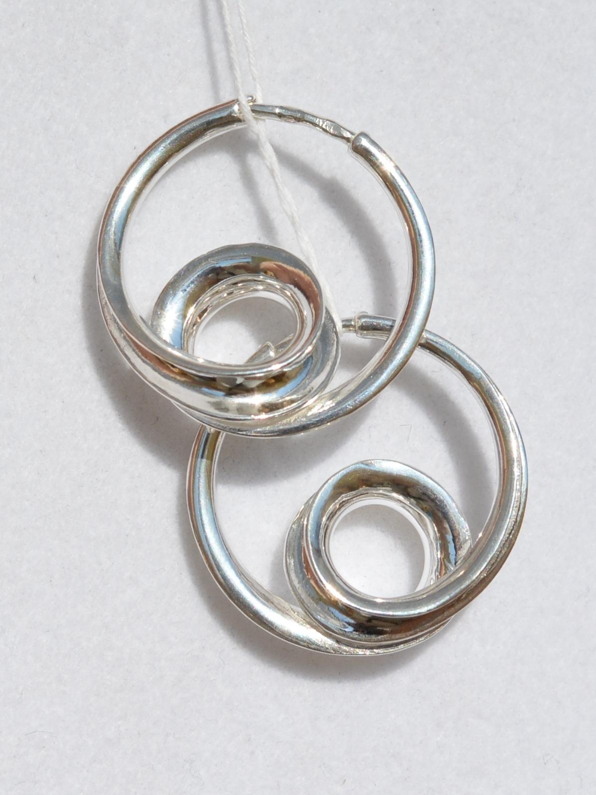 Джаз (серьги из серебра)