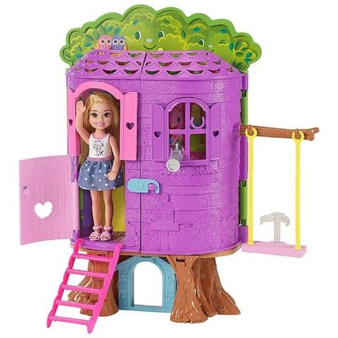 Барби Игровой набор Дом на Дереве Челси