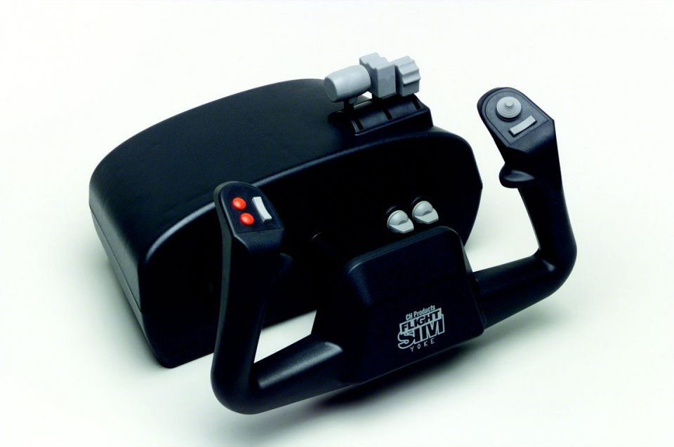 CH Products Flight Sim Yoke USB PC