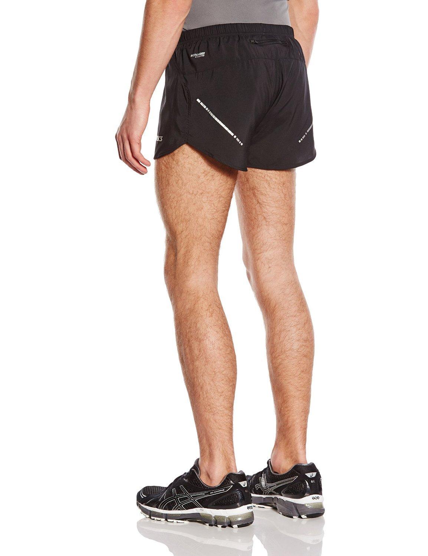 Мужские спортивные шорты асикс Split Short (110412 0904) черные