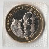 P2920, 2011, Швейцария, 10 франков UNC в родной запайке, Рынок в Берне