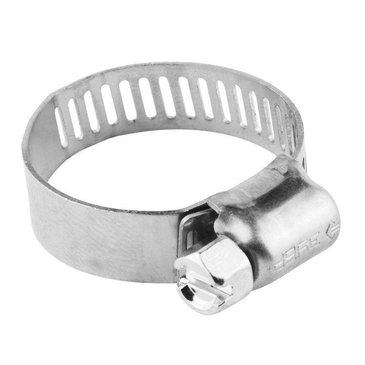 "Хомуты ЗУБР ""ЭКСПЕРТ"", нерж. сталь, просечная лента 12 мм, 38-59 мм, 100 шт"