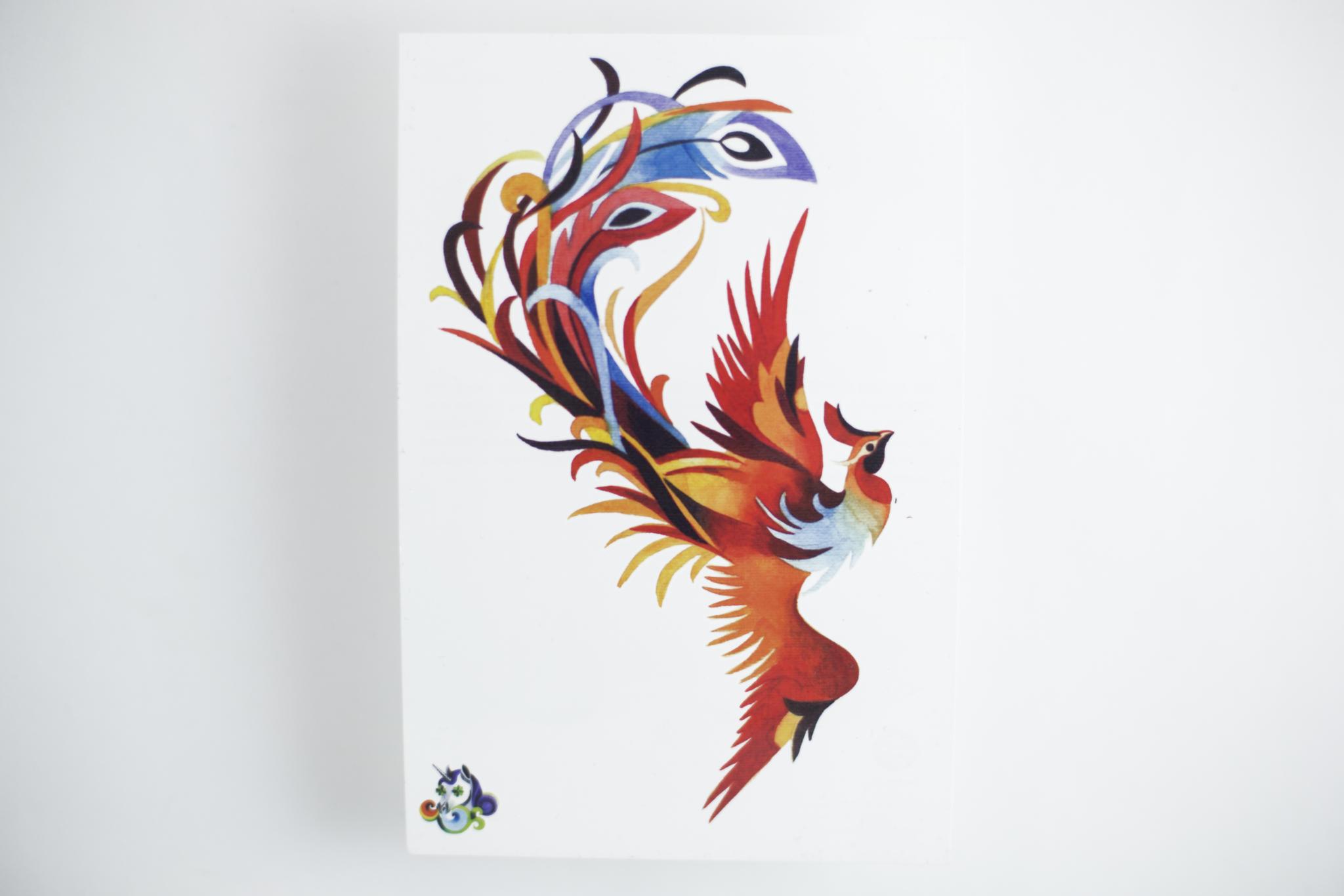 Переводная татуировка Phoenix