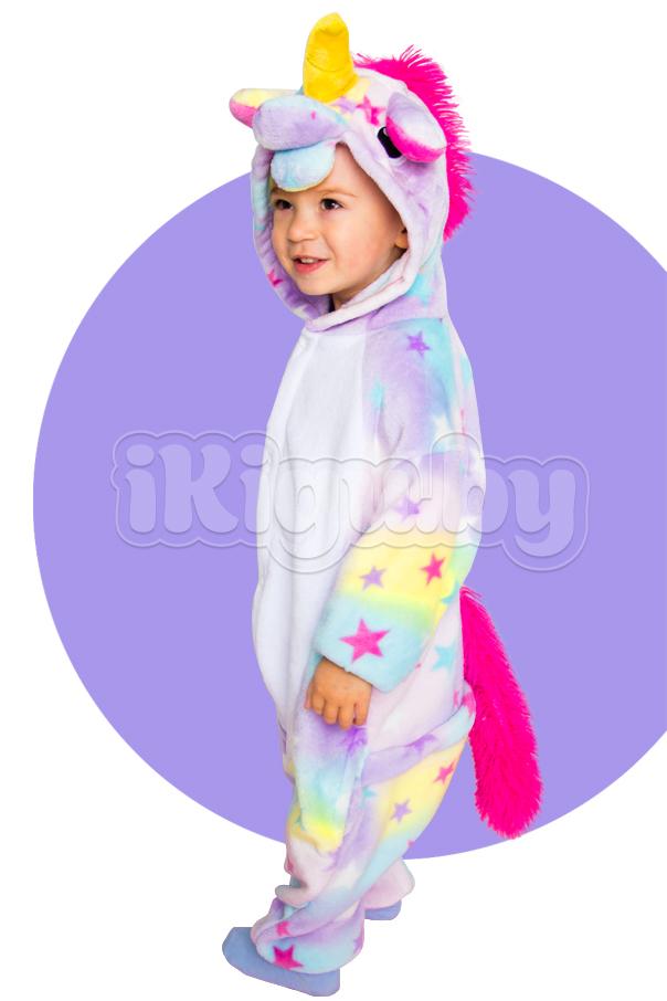 """Детские пижамы кигуруми """"Звездный Единорог"""" сказочный_дети1.jpg"""