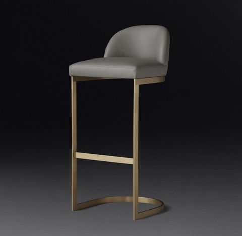 1960s Rome Leather Stool