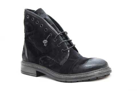 Велюровые ботинки Fruit 4841 с потертостями
