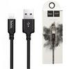 Кабель USB - Lightning 2м Hoco X14 - Черный