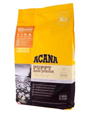 Acana Heritage Puppy & Junior сухой корм для щенков 340 г
