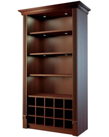 фото 1 Шкаф для дорогого алкоголя с фризом и подсветкой Евромаркет LD 005 на profcook.ru
