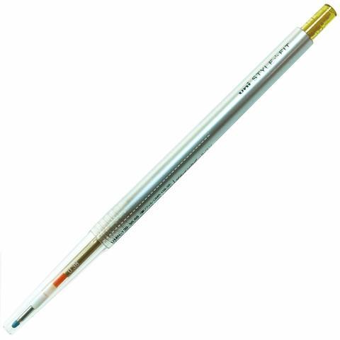 Гелевая ручка 0,38 мм Uni Style Fit - Golden Yellow - оранжево-жёлтые чернила