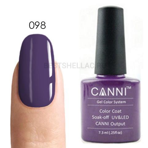 Canni Canni, Гель-лак 098, 7,3 мл 098.jpg