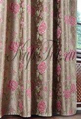 Готовая штора Jardin Royal (розовый)