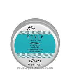 Kaaral Style Perfetto Crystal Water Wax - Воск для волос на водной основе