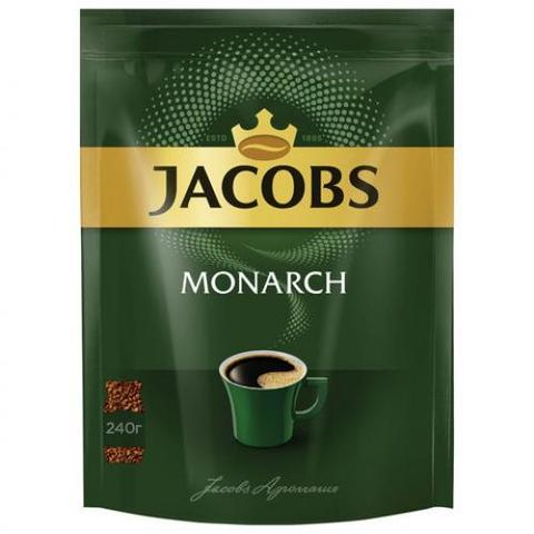 Кофе Якобс Монарх м/у 240г