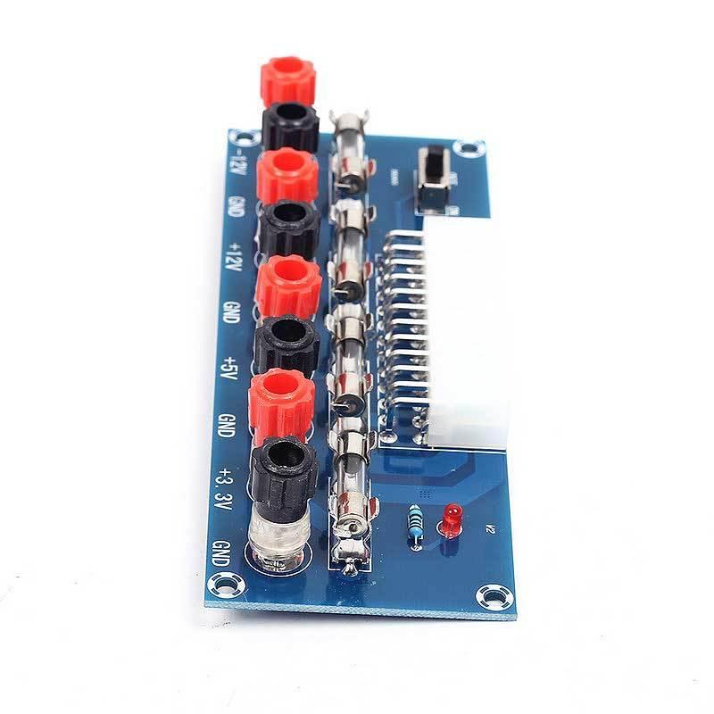Модуль RP086. Модуль разъёмов и предохранителей для блока питания ATX