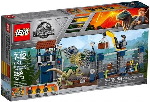 LEGO Jurassic World: Нападение Дилофозавра на сторожевой пост 75931 — Dilophosaurus Outpost Attack — Лего Мир Юрского периода