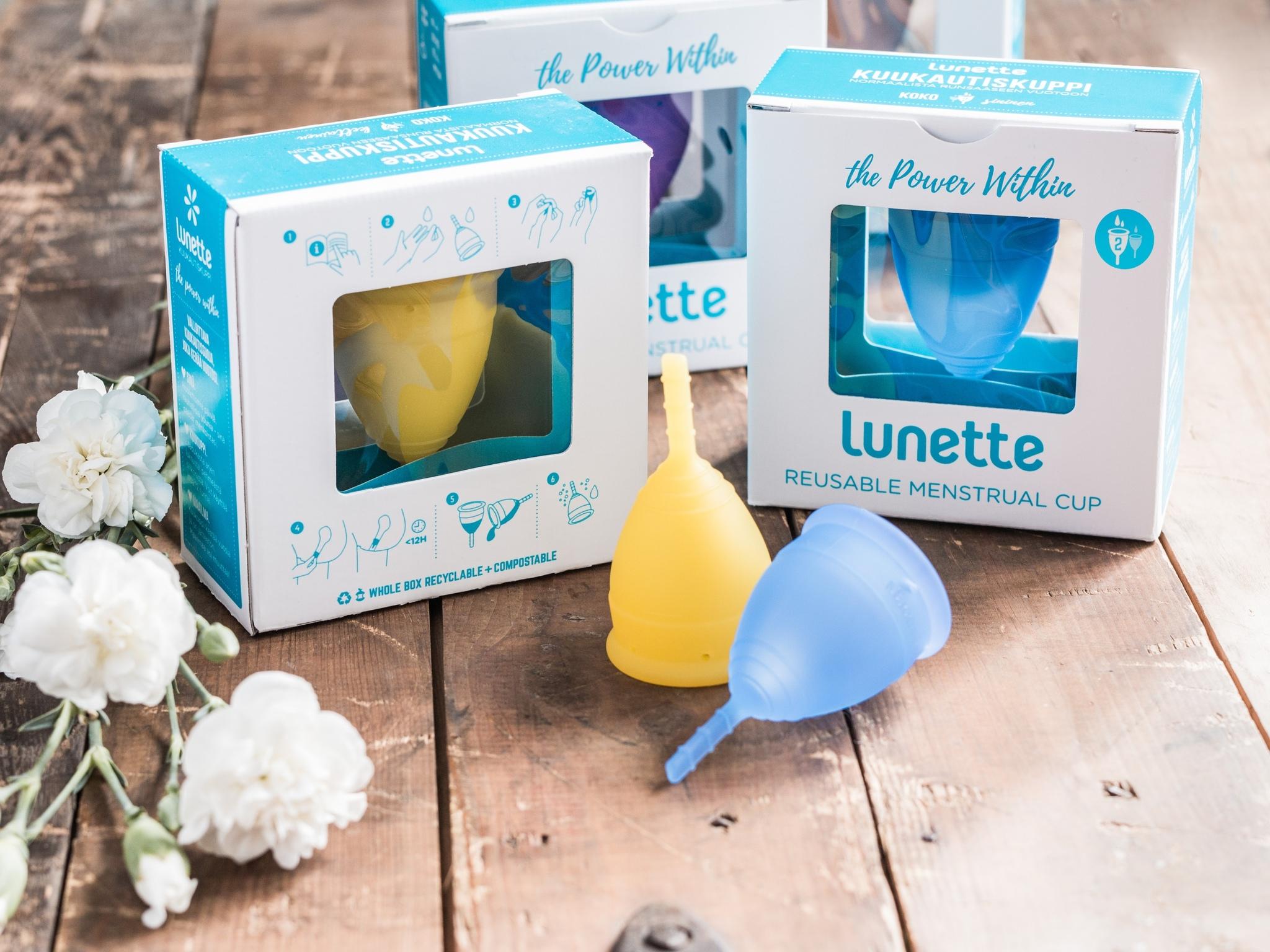 Менструальная чаша Lunette