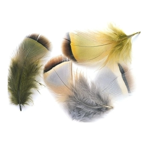 VENIARD Перья французской куропатки Partridge French hackle natural 2 gram