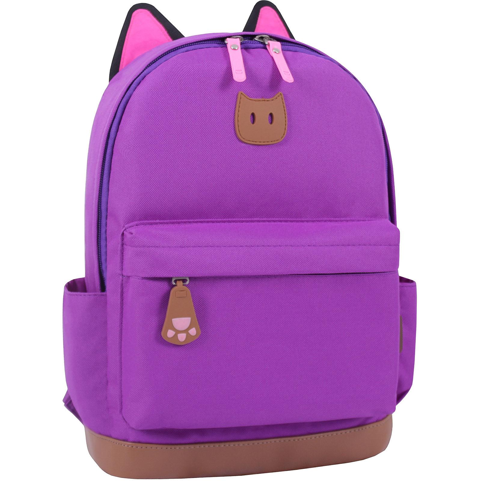 Женские рюкзаки Рюкзак Bagland Ears фиолетовый (0054566) IMG_0878.JPG