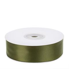 Лент атласная (оливковый) 25мм*25м