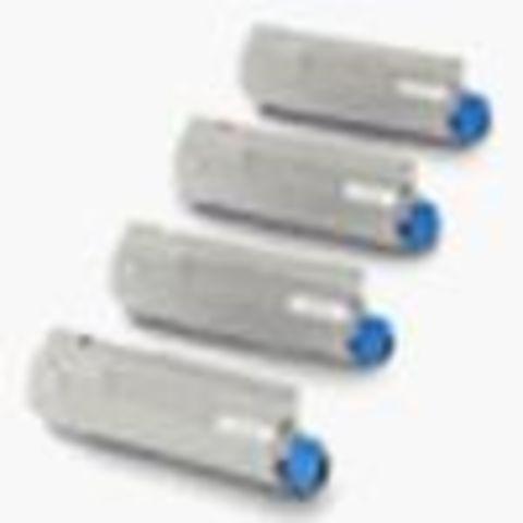 OKI C5650/C5750 тонер картридж cyan (голубой) (43872323, 43872307)
