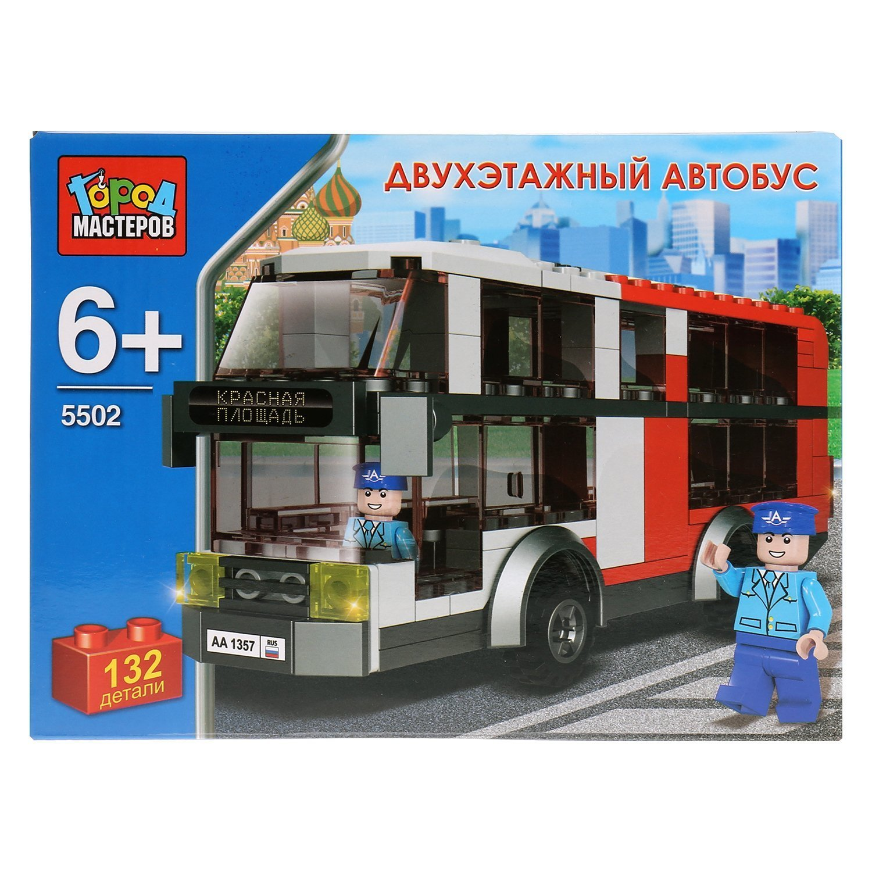 Конструктор Город мастеров Автобус двухэтажный 210659