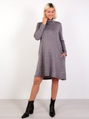 Евромама. Платье-трапеция трикотажное для беременных и кормящих, дымка