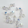5328 Бусина - биконус Сваровски Crystal AB 3 мм, 10 штук (3 мм)