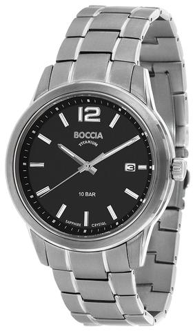Купить Мужские наручные часы Boccia Titanium 3581-01 по доступной цене