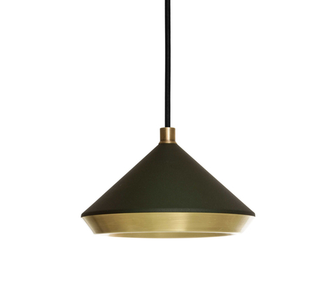 replica Bert Frank Shear Pendant Black & Brass