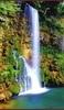 Настенный обогреватель картина Водопад с инфракрасным прогревом соз...