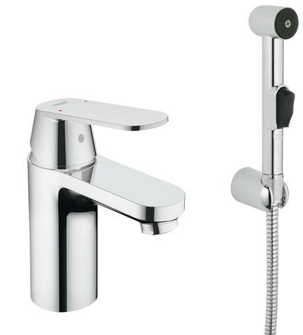 Eurosmart Cosmopolitan Смеситель однорычажный для раковины с гигиеническим душем